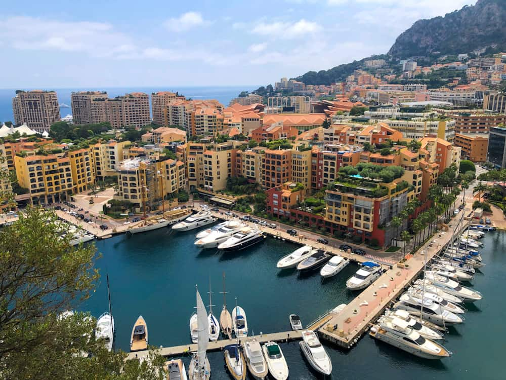 Monaco in the South of France