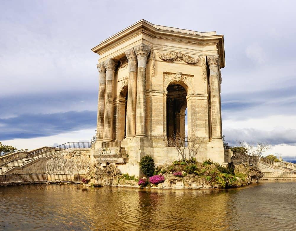 Arc de Triomphe, in Peyrou Garden, Montpellier