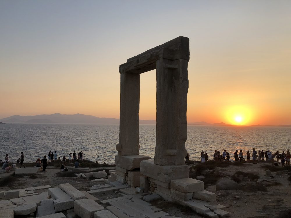Apollo's Temple in Naxos, Greece