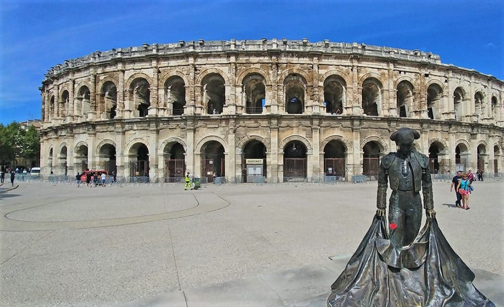 Nimes in the South of France