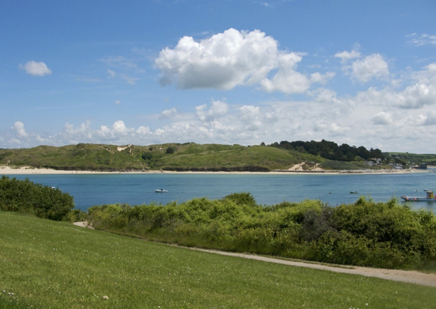 The beautiful Padstow Estuary in Cornwall