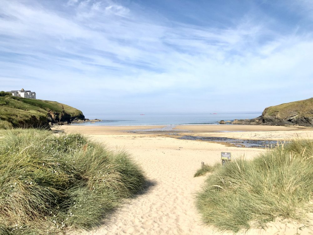 Poldhu Beach, Cornwall