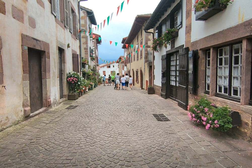 Saint Jean Pied de Port in the South France