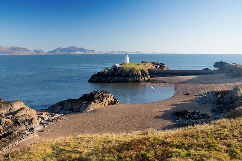 Llanddwyn Beach in Anglesey