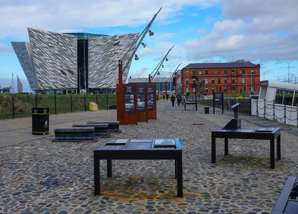 Titanic Quarter in Belfast