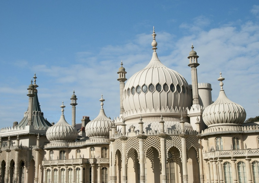 The iconic Royal Pavilion in the heart of Brighton