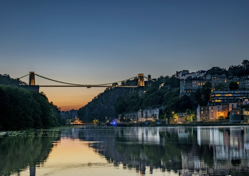 The awesome Clifton Suspension Bridge in Bristol