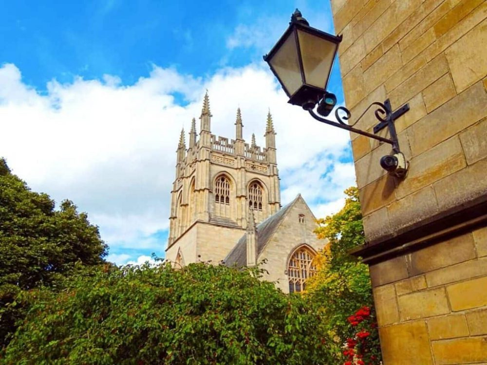Charming streets in Oxford