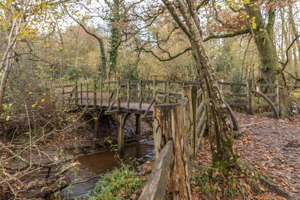 Pooh Bridge in Hartfield