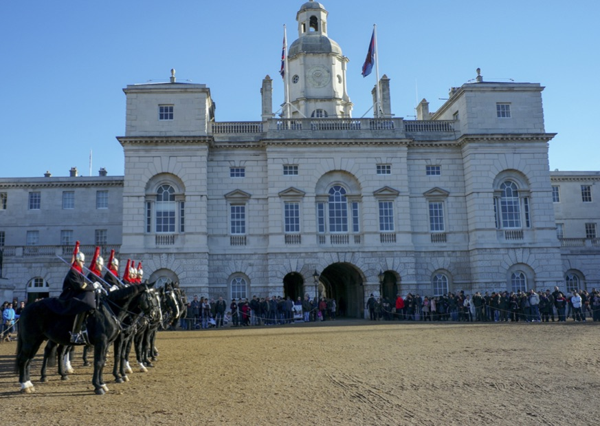 Horse Guards Parade by St James Park