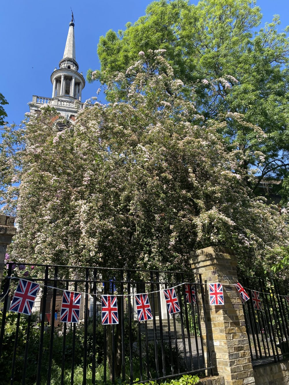 St Mary's Church in Rotherhithe