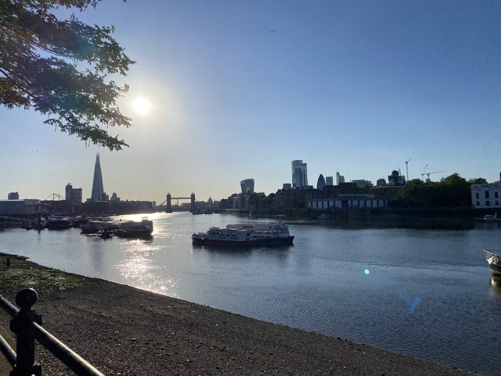 Rotherhithe riverside
