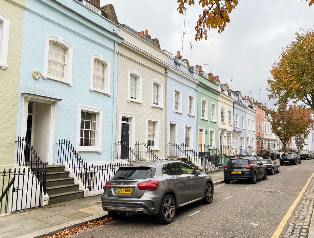 The colourful streets of Chelsea