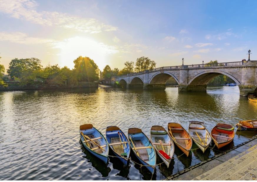 The gorgeous Richmond Riverside