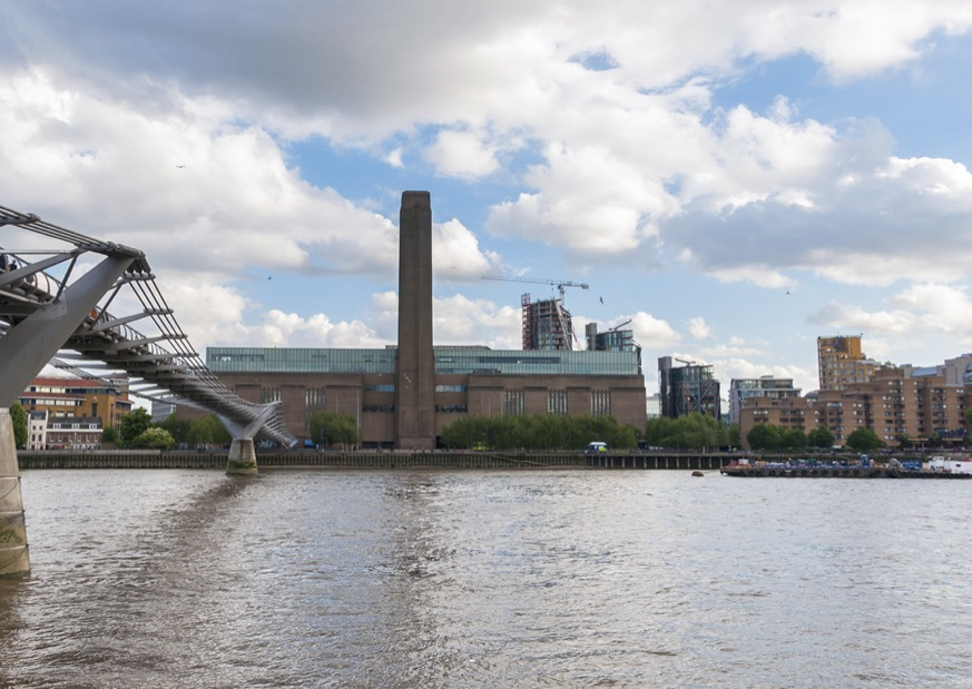 The Tate Modern on Southbank