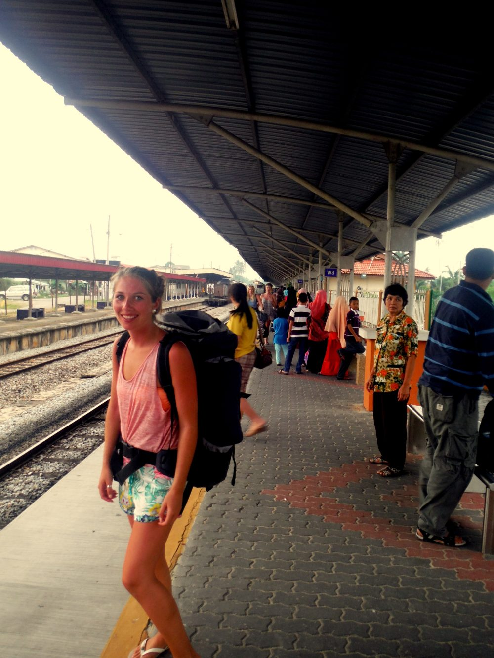 Taking the train around Malaysia