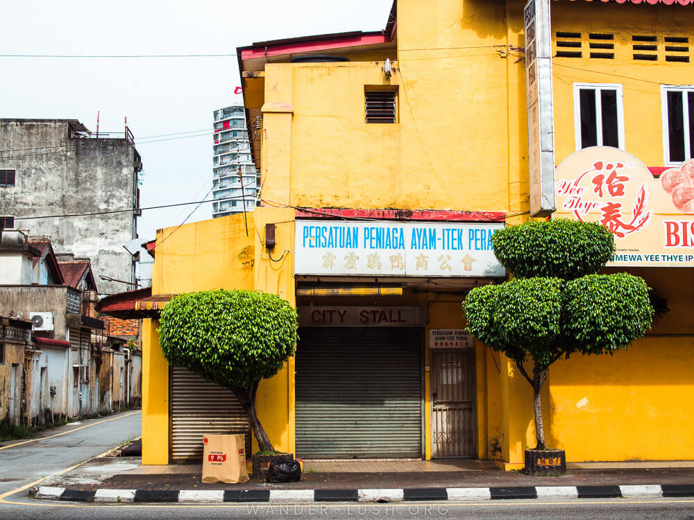 Colourful streets of Ipoh, Malaysia