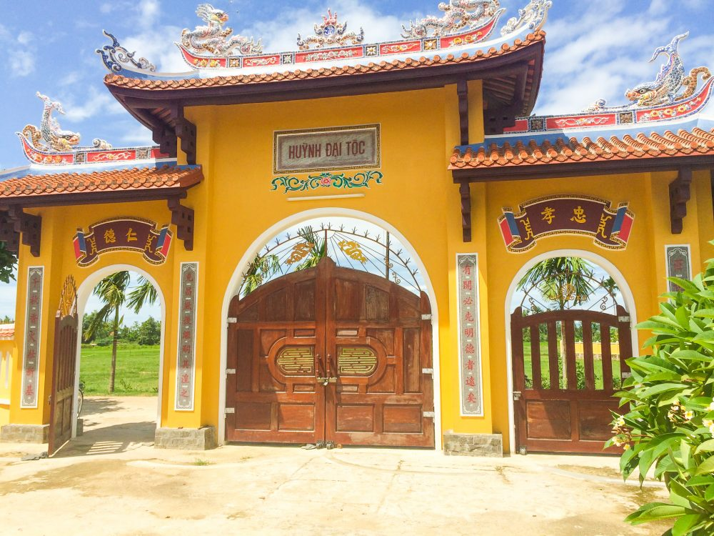 Temple in rural Hoi An