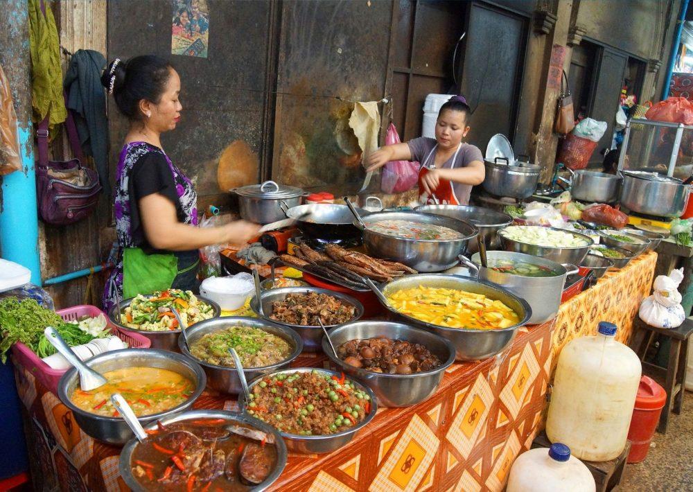 Street Food Market in Siem Reap