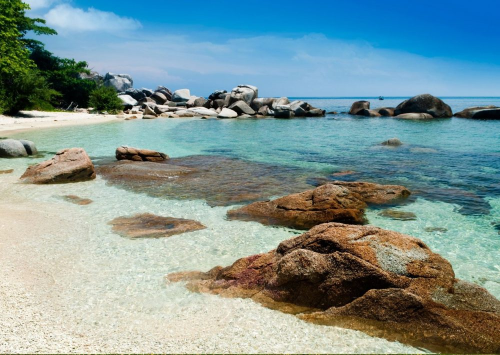 The idyllic Perhentian Islands, one of the best places to visit in Malaysia