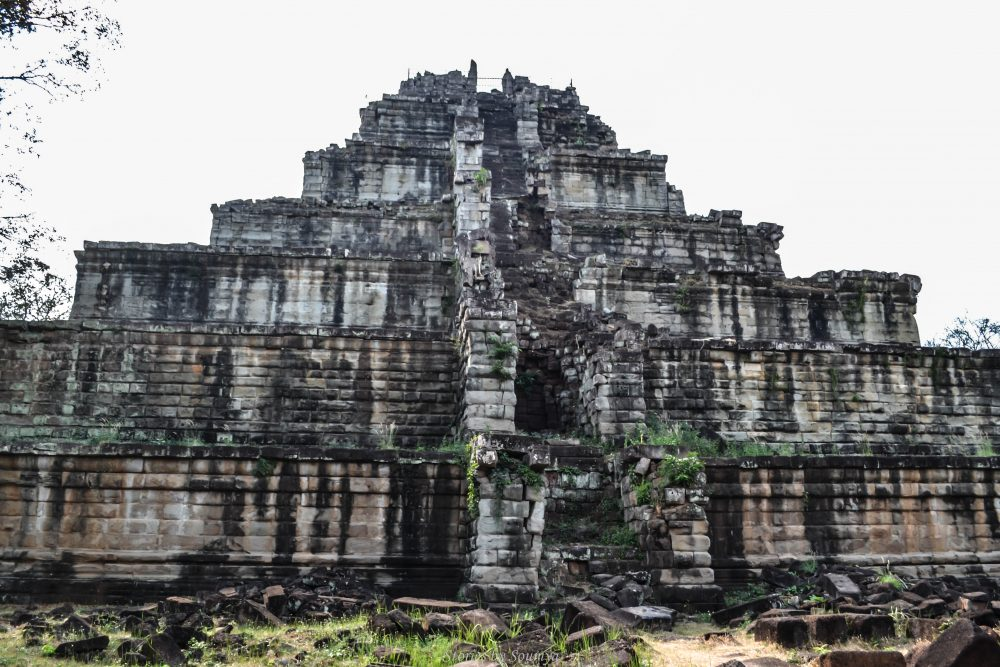 Pyramid Temple of Cambodia