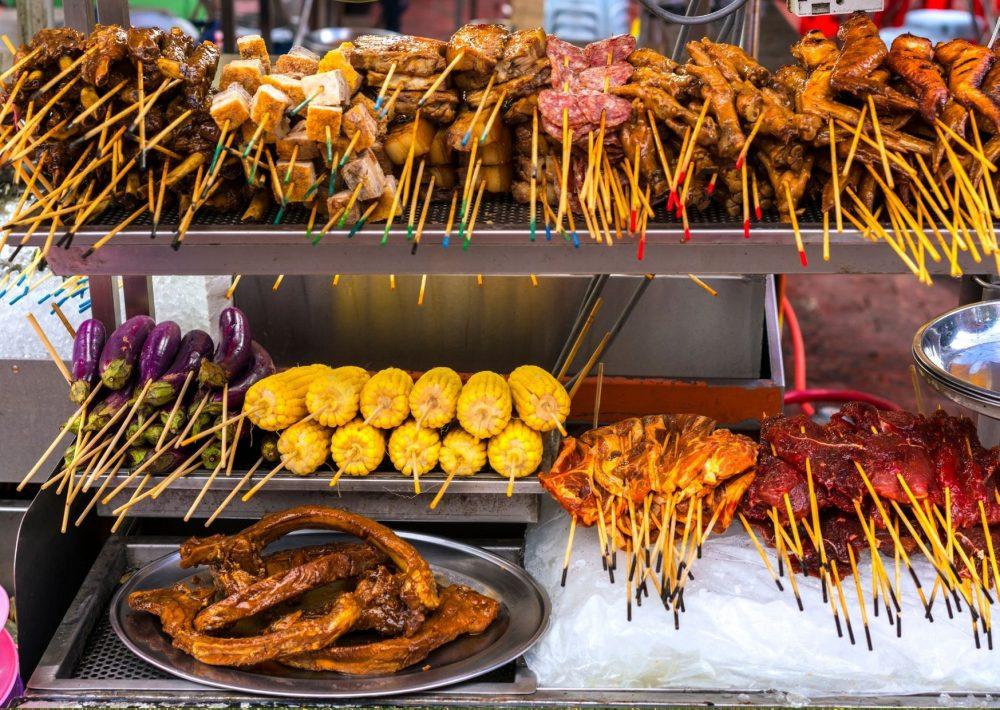 Street food market KL