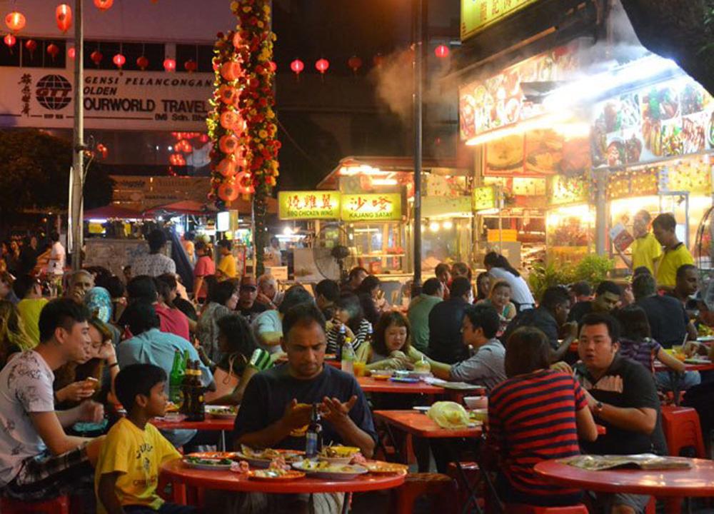 Jalan Alor Street Food Market