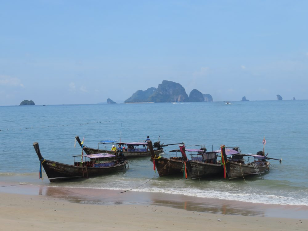Aonang Beach in Krabi