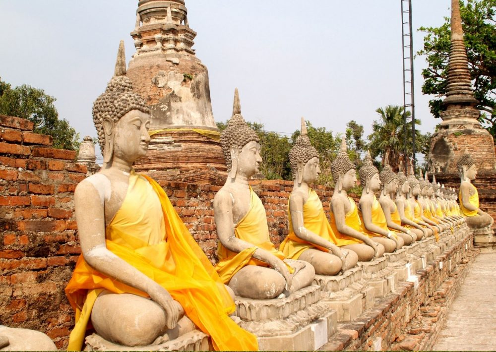 The ancient Siamese Kingdom of Ayutthaya