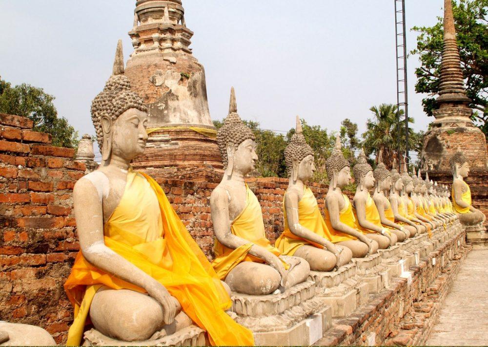 The ancient Siamese Kingdom of Ayutthaya