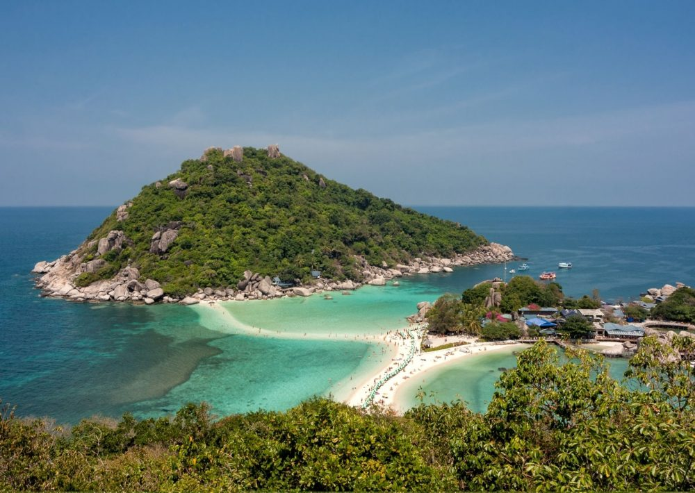 Stunning viewpoint in Koh Tao