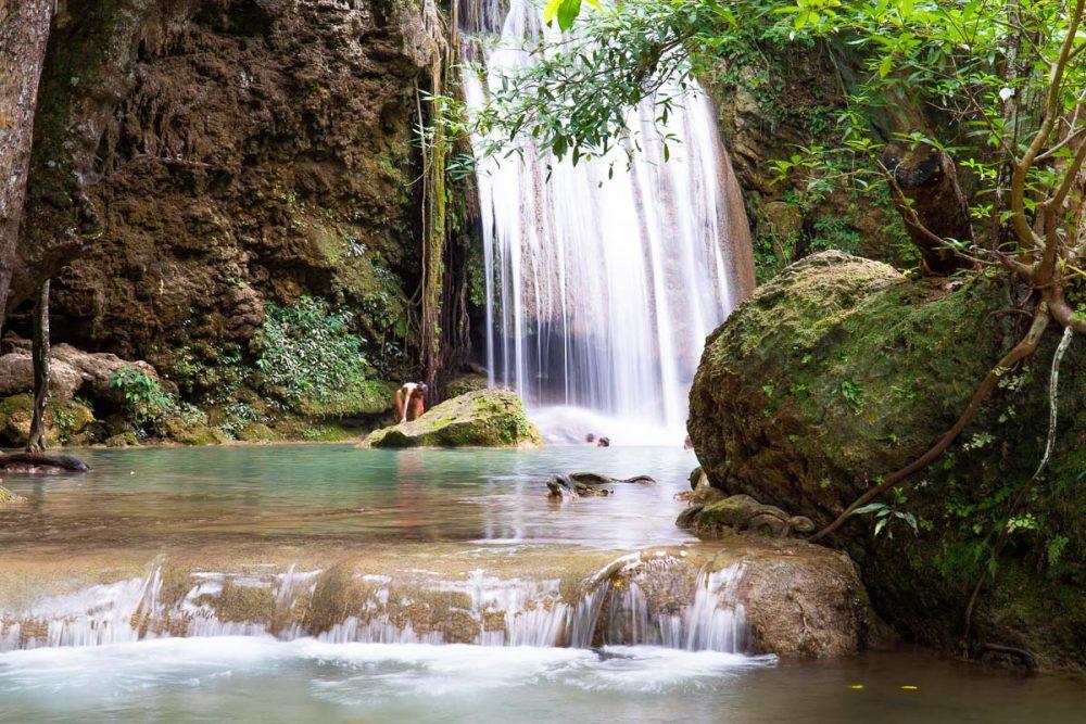 Erawan Falls near Kanchanaburi