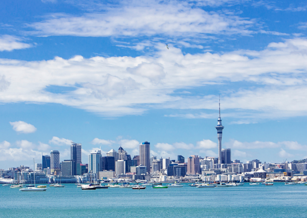 Auckland, the most vibrant city in New Zealand