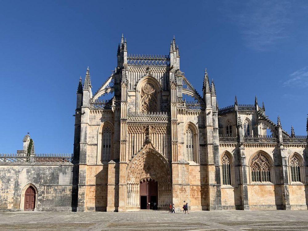 The impressive Batalha Monastery