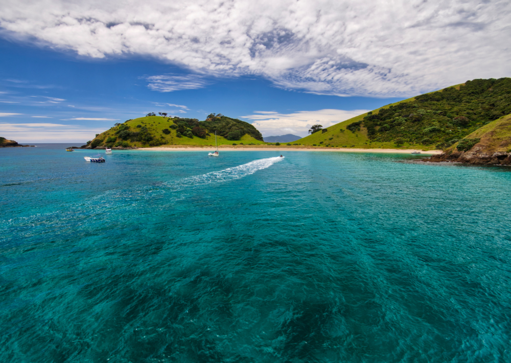 The stunning Bay of Islands