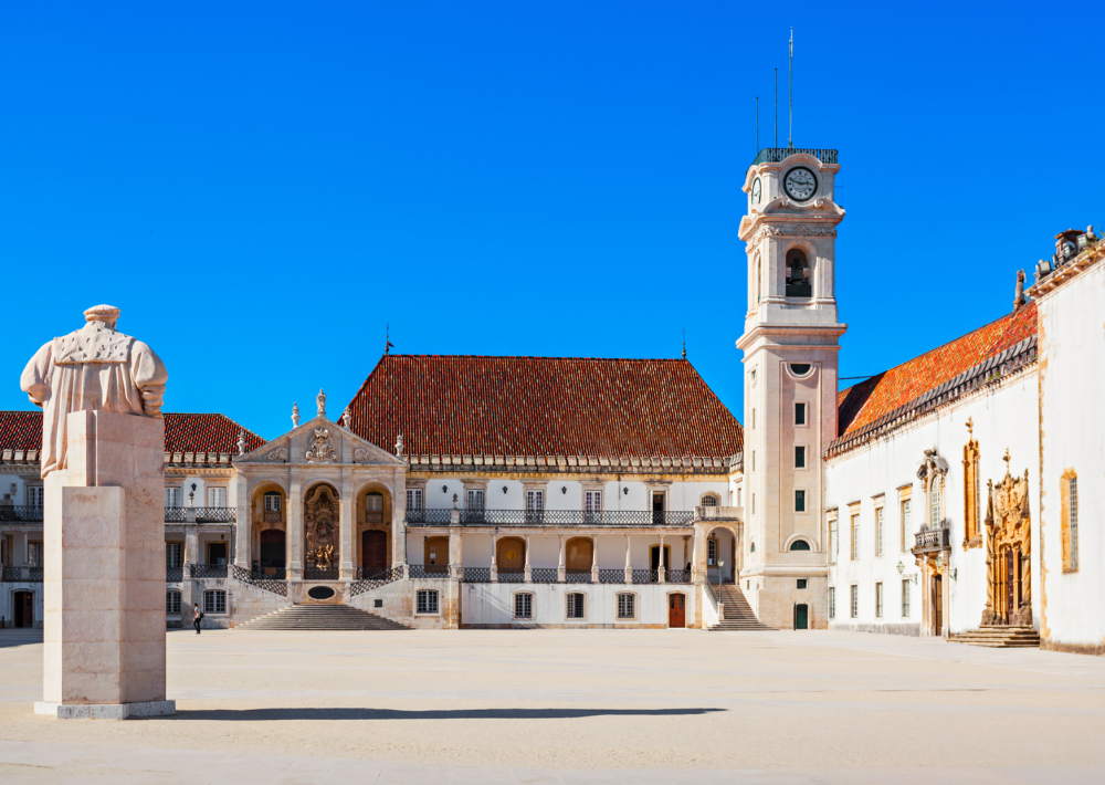 The magnificent university in Coimbra
