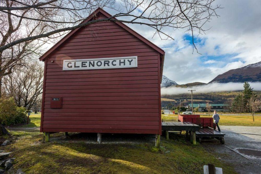 The teeny tiny town of Glenorchy