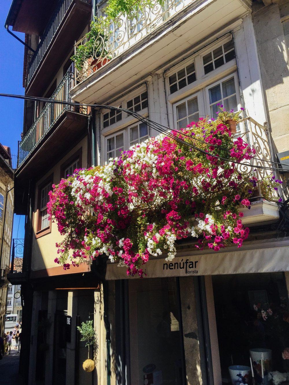 The historic centre of Guimaraes