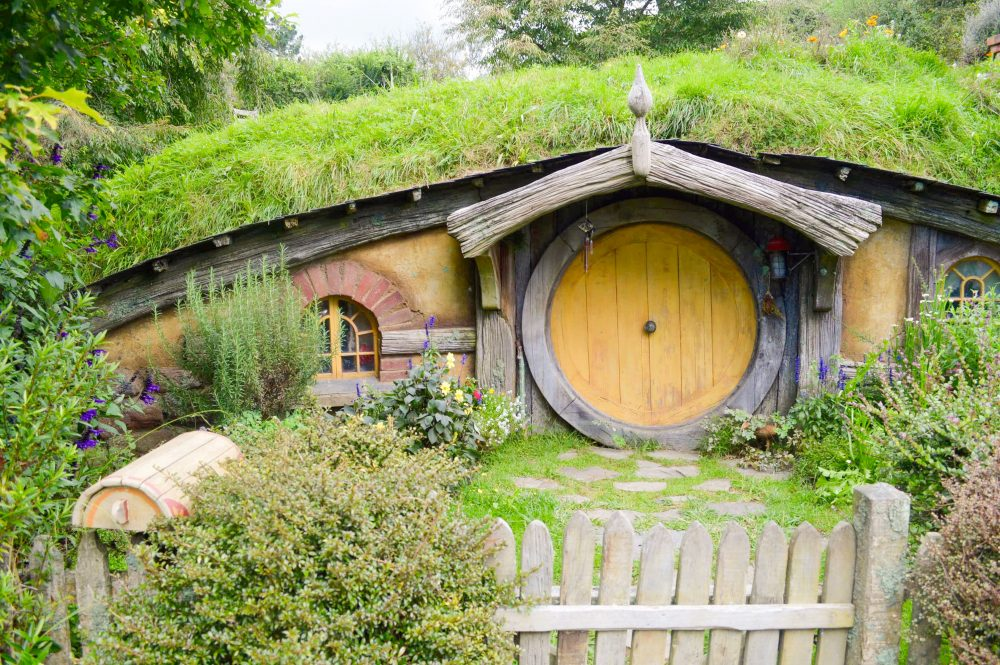 Hobbiton near Hamilton, North Island