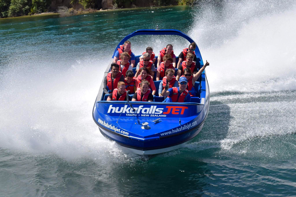 Huka Falls Jet Boating