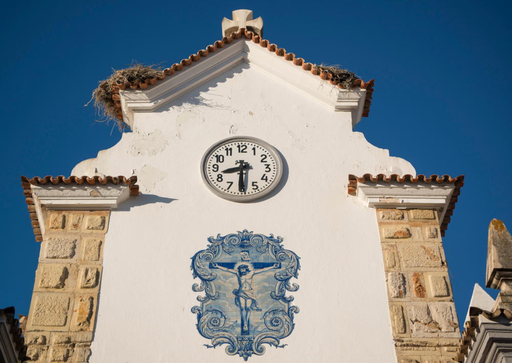 The charming architecture in Olhao