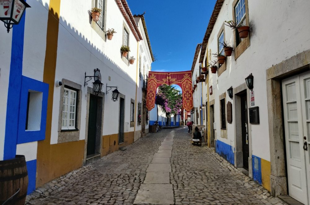 The charming streets of Óbidos