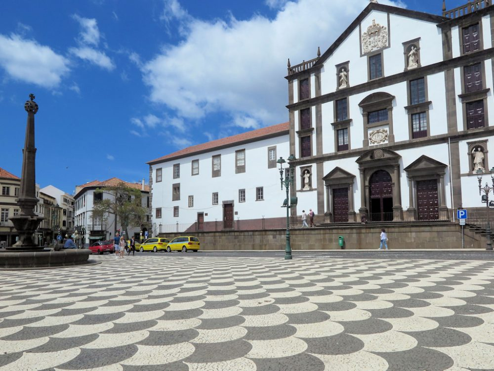 The pretty capital of Funchal in Madeira